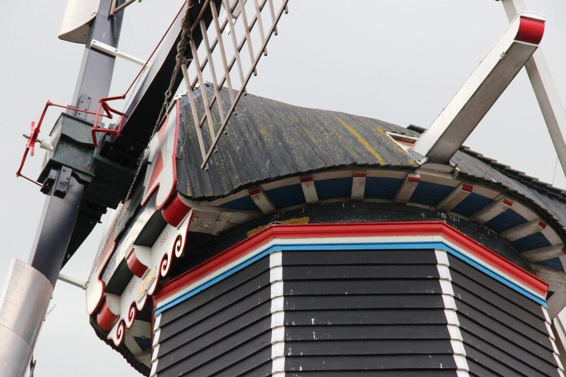 Koren- en pelmolen De Fortuna Noordhorn