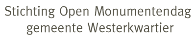 Stichting Open Monumentendag gemeente Westerkwartier