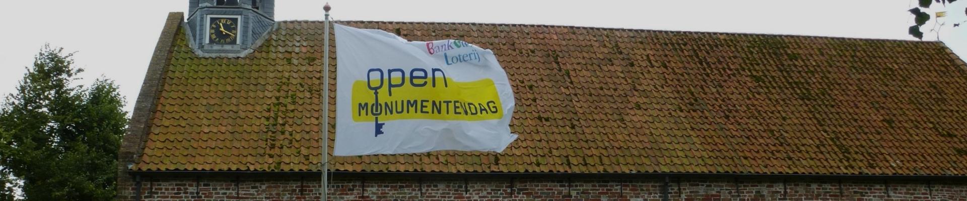 Open Monumentendag vlag