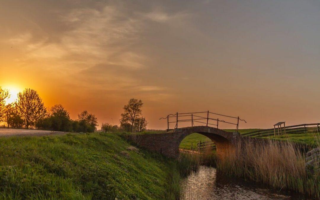 Pieterzijl, Boogbrug