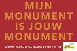 Jaarthema 2021 – Mijn monument, jouw monument
