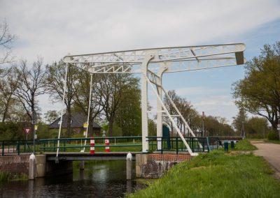 Zevenhuizen, Ophaalbrug